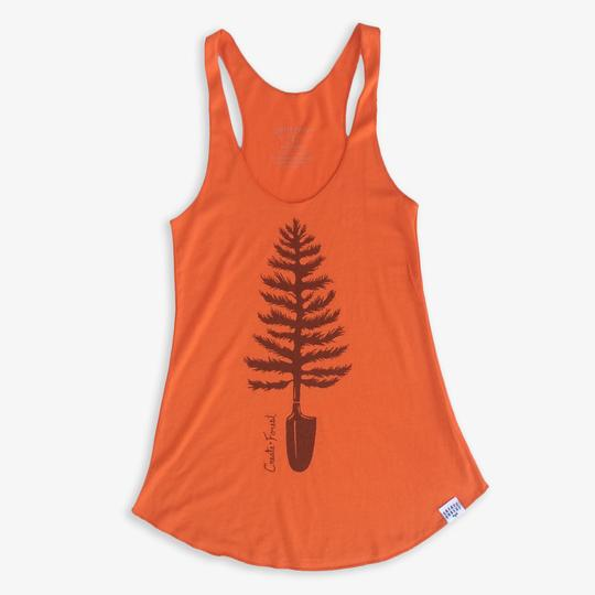 Create Forest - Tree Tank Top