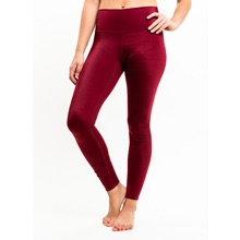 Oraki Leggings - Burgundy
